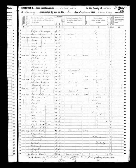 1850 United States Federal Census - George W Wells.jpg