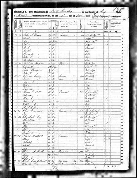 1850 United States Federal Census - Mary Wiseman.jpg