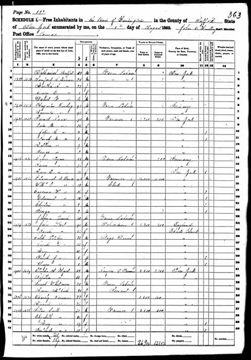 1860 United States Federal Census - Garret B Lane.jpg