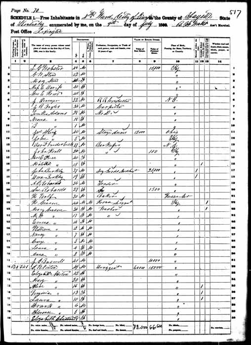 1860 United States Federal Census - George Washington Norton.jpg
